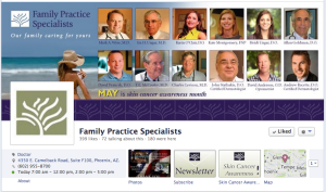 Family Practice Specialists Social Media